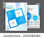 business brochure. flyer design.... | Shutterstock .eps vector #1033383364