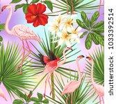 seamless pattern  background... | Shutterstock .eps vector #1033392514