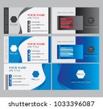 creative clean and abstract... | Shutterstock .eps vector #1033396087
