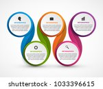 abstract options infographics... | Shutterstock .eps vector #1033396615