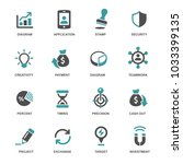 business and web icons | Shutterstock .eps vector #1033399135