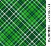 plaid check pattern in dark... | Shutterstock .eps vector #1033407781