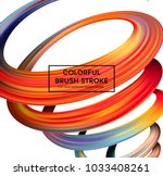 bright color paint stains for...   Shutterstock .eps vector #1033408261