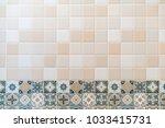 tiles background texture. | Shutterstock . vector #1033415731