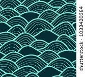 decorative seamless pattern.... | Shutterstock .eps vector #1033420384