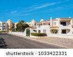 street view in residential...   Shutterstock . vector #1033422331