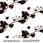 vector black shape decorative... | Shutterstock .eps vector #1033429969