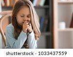 religious christian girl... | Shutterstock . vector #1033437559