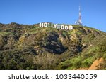 hollywood   california february ... | Shutterstock . vector #1033440559