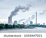 industry and power plant ... | Shutterstock . vector #1033447021