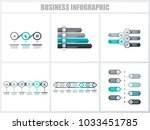 abstract infographics number... | Shutterstock .eps vector #1033451785