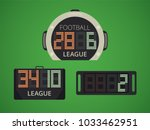 soccer   football electronic... | Shutterstock .eps vector #1033462951
