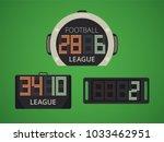 soccer   football electronic... | Shutterstock .eps vector #1033462951