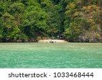 thailand  phuket  2017  ... | Shutterstock . vector #1033468444