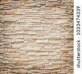 pattern of decorative stone... | Shutterstock . vector #1033474339