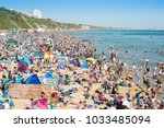 bournemouth  uk   august 31 ... | Shutterstock . vector #1033485094