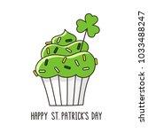 St Patrick's Day Cupcake. It...