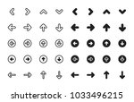 arrows icons variety | Shutterstock .eps vector #1033496215