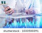 businessman hands doing...   Shutterstock . vector #1033500391