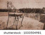 old photo stylishly beautiful... | Shutterstock . vector #1033504981