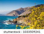 Scenic View Of Rugged Coastline ...