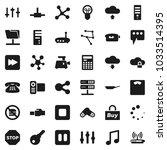 flat vector icon set   pan... | Shutterstock .eps vector #1033514395