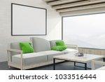 modern living room interior... | Shutterstock . vector #1033516444