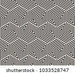 vector seamless pattern. modern ... | Shutterstock .eps vector #1033528747