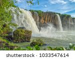 Dray Nur Waterfall  Against A...