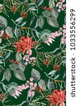 Tropical Exotic Pattern With...