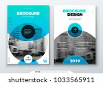 brochure template layout  cover ... | Shutterstock .eps vector #1033565911