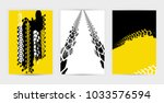 vector automotive banners... | Shutterstock .eps vector #1033576594