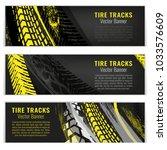 vector automotive banners... | Shutterstock .eps vector #1033576609