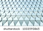 abstract 3d minimalistic... | Shutterstock . vector #1033593865