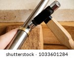 different goldsmiths tools on... | Shutterstock . vector #1033601284