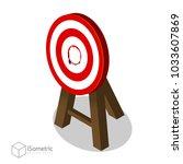 breakthrough target goal ... | Shutterstock .eps vector #1033607869