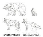 vector graphics lines of...   Shutterstock .eps vector #1033638961