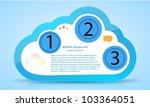vector computer cloud web... | Shutterstock .eps vector #103364051