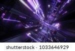 3d render  abstract futuristic...   Shutterstock . vector #1033646929