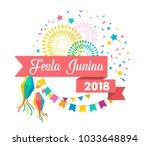 festa junina   latin american ...   Shutterstock .eps vector #1033648894
