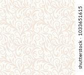 seamless background baroque...   Shutterstock .eps vector #1033651615