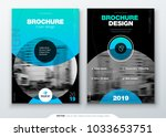 brochure template layout  cover ... | Shutterstock .eps vector #1033653751