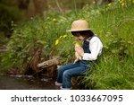 preschool child  boy  playing...   Shutterstock . vector #1033667095