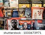 hong kong  february 15  2018 ... | Shutterstock . vector #1033673971