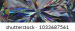 3d render  abstract crystal... | Shutterstock . vector #1033687561