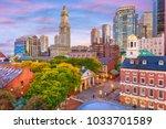 boston  massachusetts  usa... | Shutterstock . vector #1033701589