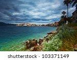 korcula. croatia | Shutterstock . vector #103371149