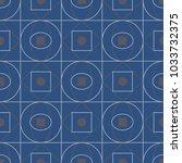 geometric seamless pattern.... | Shutterstock .eps vector #1033732375