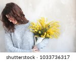 young beautiful girl with...   Shutterstock . vector #1033736317