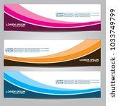 vector design banner... | Shutterstock .eps vector #1033749799